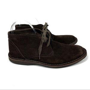 John Varvatos Brown Suede Chukka Boots Size 9